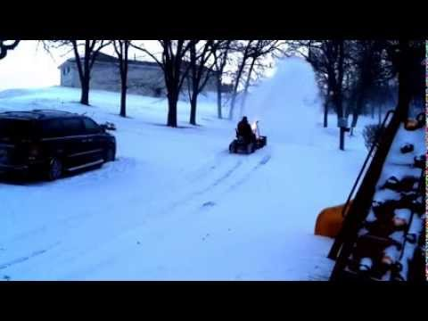 2004 Huskee Riding Mower With 42