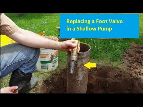 Replacing a Well Foot Valve