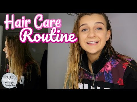MY HAIR CARE ROUTINE & FAVORITE PRODUCTS