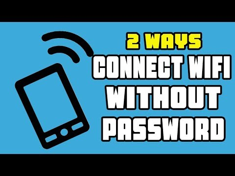 (2 Ways) HOW TO CONNECT TO WIFI WITHOUT PASSWORD!! (Android) No ROOT 100% working way