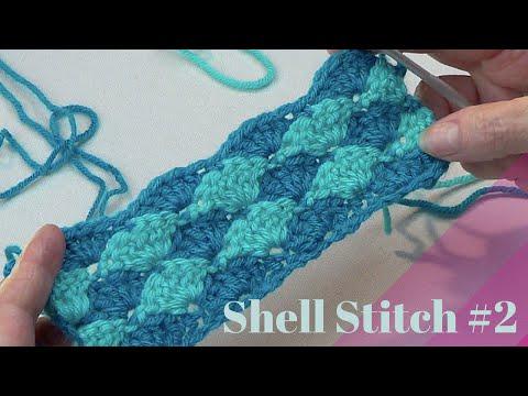 Crochet Shell Stitch #2