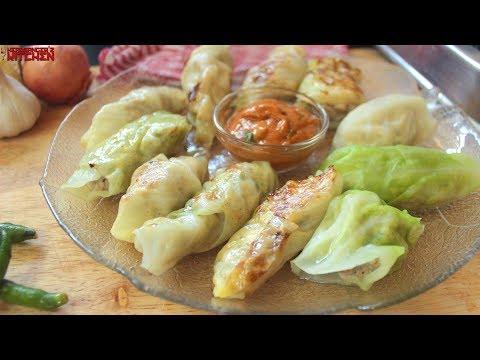 Keto Chicken Dumplings ( Chicken Momo/Dim Sum)   Keto Recipes   Headbanger's Kitchen