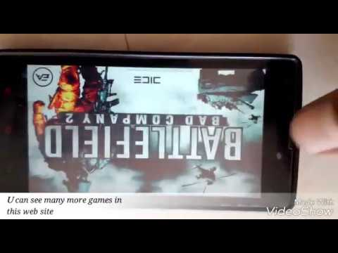 How to download and install battlefield 2 hd all android devices