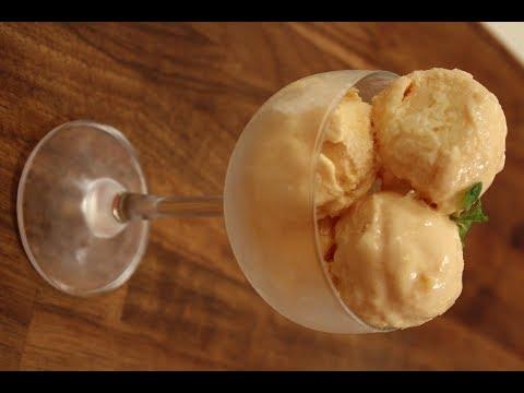 Carrot and Orange Ice Cream | Sanjeev Kapoor khazana