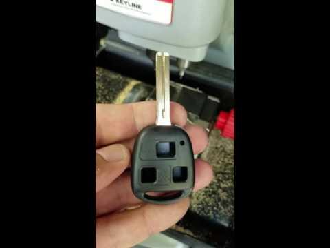 Lexus key shell replacement
