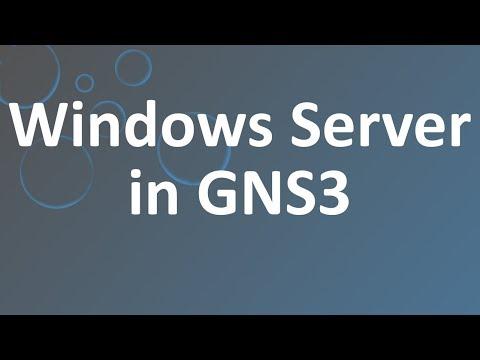 Windows Server in GNS3