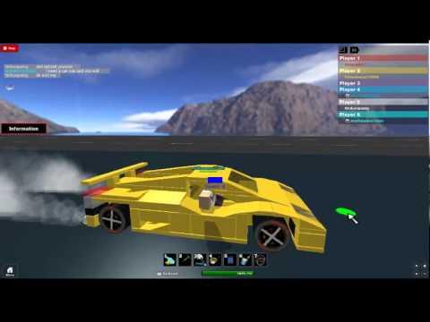 roblox build and race : lamborghini gallardo : thiducquang