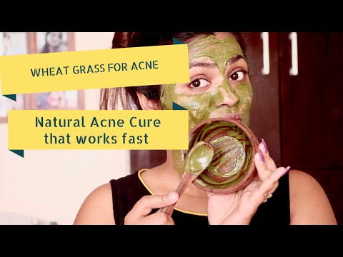 Wheatgrass Face Mask Hindi Mein |Wheatgrass Ki Faydee | Patanjali Wheat Grass