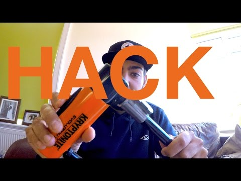How To Stop Bike Lock Rattle #Hack