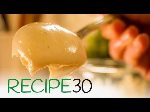 60 Second Mayo, How to make mayonnaise and tartar sauce