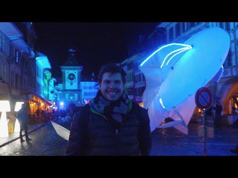 Murten Light Festival, Switzerland