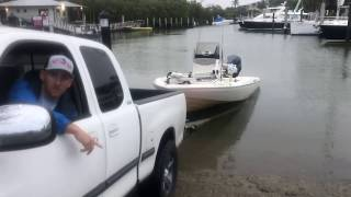Don't lose your truck at the boat ramp!