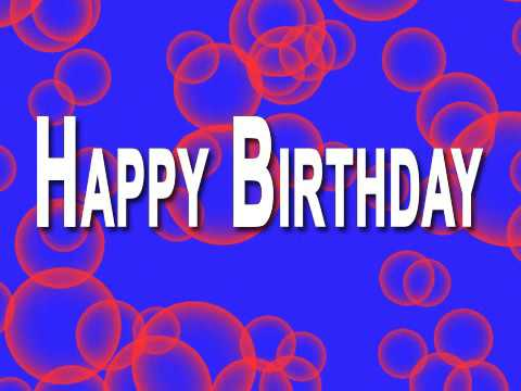 A Video Birthday Card you Can Send for Free