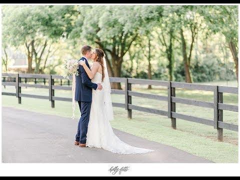A wedding centered around Jesus - Taylor + Sam's wedding at Spain Ranch in Jenks, OK