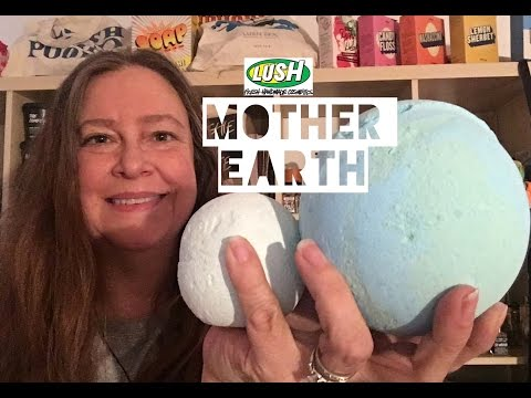 Lush 'Mother Earth' 2017 bath bomb Demo