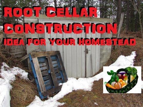 ROOT CELLAR CONSTRUCTION IDEAS!!!!!