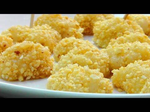 Vegan Vegetarian Chinese Recipe: Muah Chee Snack