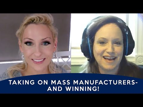 How Michelle Competes Against Mass Manufacturers -  how to start a maker handmade business, reviews