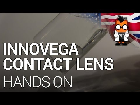Innovega Augmented Reality Contact Lens Demo at CES 2014