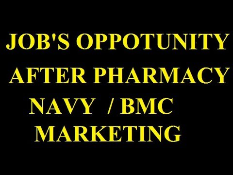 Scope Of Pharmacy | Job After Pharmacy |Job After D Pharma| job after b pharmacy| pharmacy in india