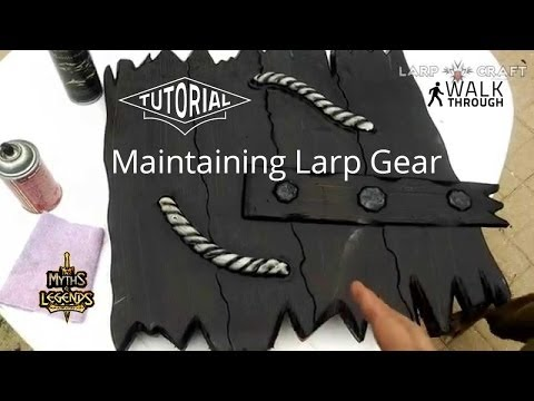 Latex Care Tips for Larp Weapons | LarpCraft Live action role-playing game