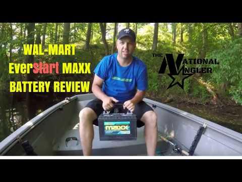 Wal-Mart EverStart MAXX Battery Review