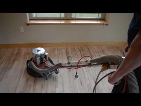 Dust-Free Wood Floor Refinishing