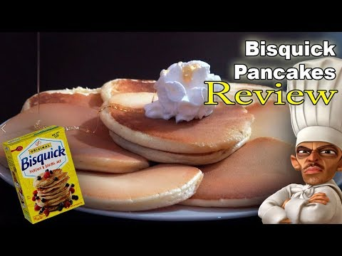Bisquick Pancakes and Baking Mix - Review