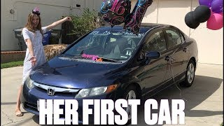Download SURPRISING MY TEENAGE DAUGHTER WITH HER FIRST CAR ON HER 16TH BIRTHDAY Video