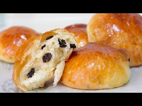 Raisin Buns/Bread Recipe--Cooking A Dream
