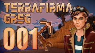 LetsPlay Minecraft 1.7.10 GregTech and TerraFirmaCraft - 001 Начало. Хорошее убежище