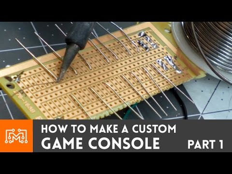 [APRIL FOOLS PRANK] Make a custom game console // How-To
