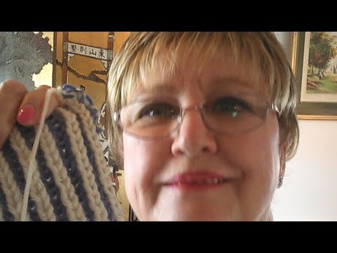 How to work with a Lifeline in Knitting.