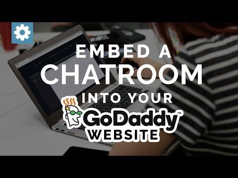 Embed A Chat Room Into Your GoDaddy Website