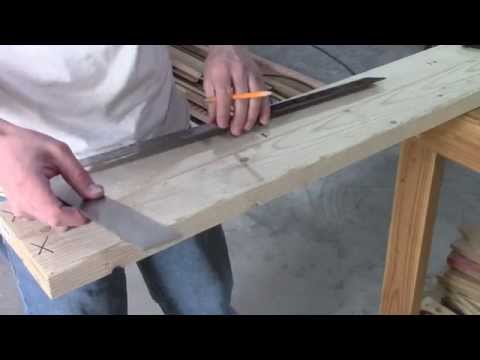How to layout wall studs 16