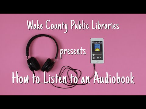 Library Card Sign-up Month: How to Listen to an Audiobook
