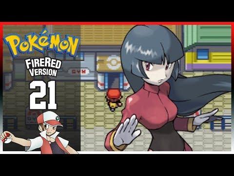 Pokemon Fire Red: Part 21 - Saffron City Gym Leader Sabrina