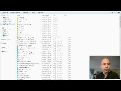 Finding Google Drive Files on Your Windows Computer