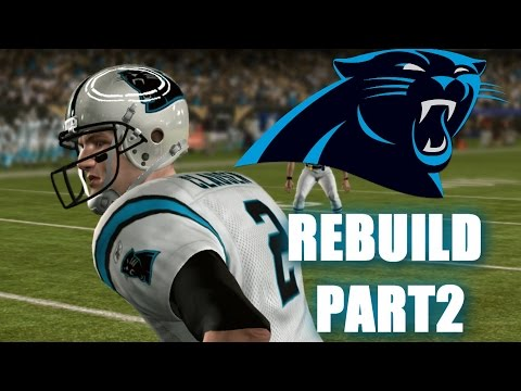 INSANE PLAYOFF GAMES! LIFE WITHOUT CAM PART2 MADDEN NFL PANTHERS REBUILD