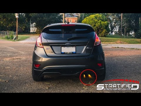Stratified LOUD Exhaust Crackle and Pop Tune - 2016 FIESTA ST (AGGRESSIVE)