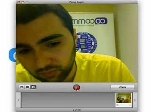 How to record a video on Mac OS X using Photobooth =)
