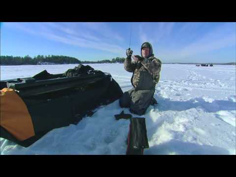 Ice Fishing Crappies In Deep Water