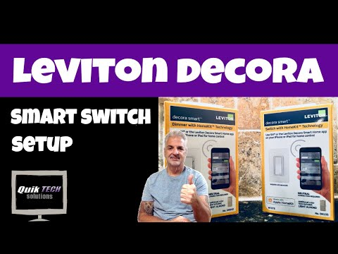 Leviton Decora SMART Switch Setup