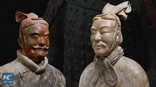 Terracotta warriors used to be colorful