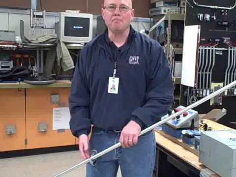 How to cut conduit with a tubing cutter