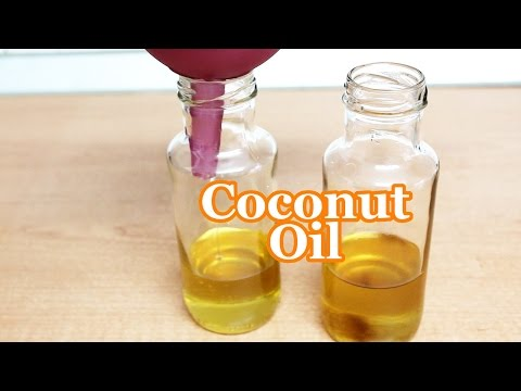 How to Make Coconut Oil in Your Home (Another Way)