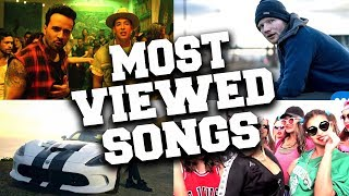 Top 100 Most Viewed Songs of All Time (Updated in May 2019)
