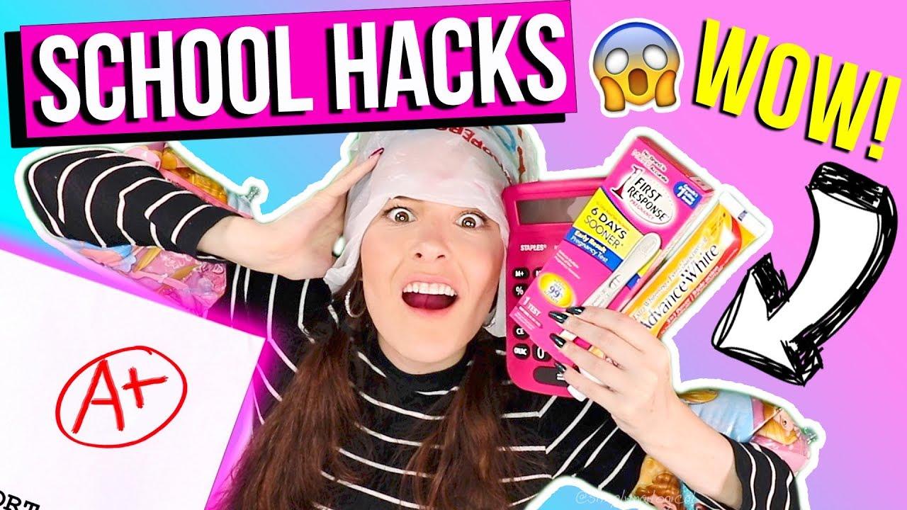 15 SAVAGE BACK 2 SCHOOL WEIRD HACKS 2017 U NEED NOW !! RELATABLE! + TUITION GIVEAWAY !!