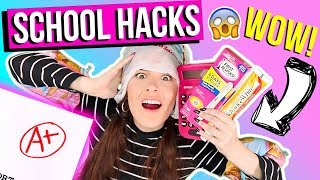 15 SAVAGE BACK 2 SCHOOL WEIRD HACKS 2017 U NEED NOW !! RELATABLE! + TUITION GIVEAWAY !!