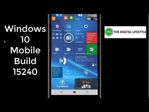 Hands on with Window 10 Mobile Build 15240